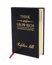 THINK AND GROW RICH by NAPOLEON HILL (HARDCOVER) NEW! [9781585426591]