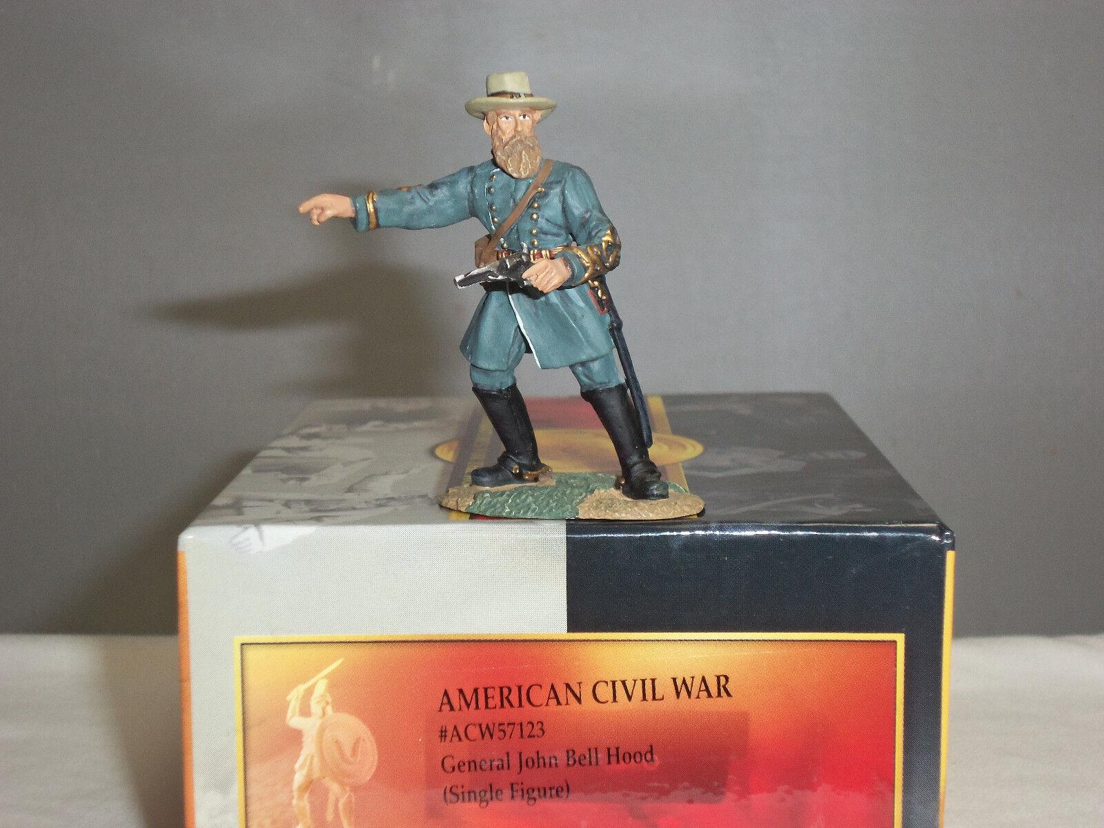 CONTE ACW57123 GENERAL JOHN BELL HOOD AMERICAN CIVIL WAR TOY SOLDIER FIGURE
