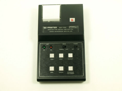 Fowler 54-903-211 EDP 1000 Universal QC Printer//Calculator