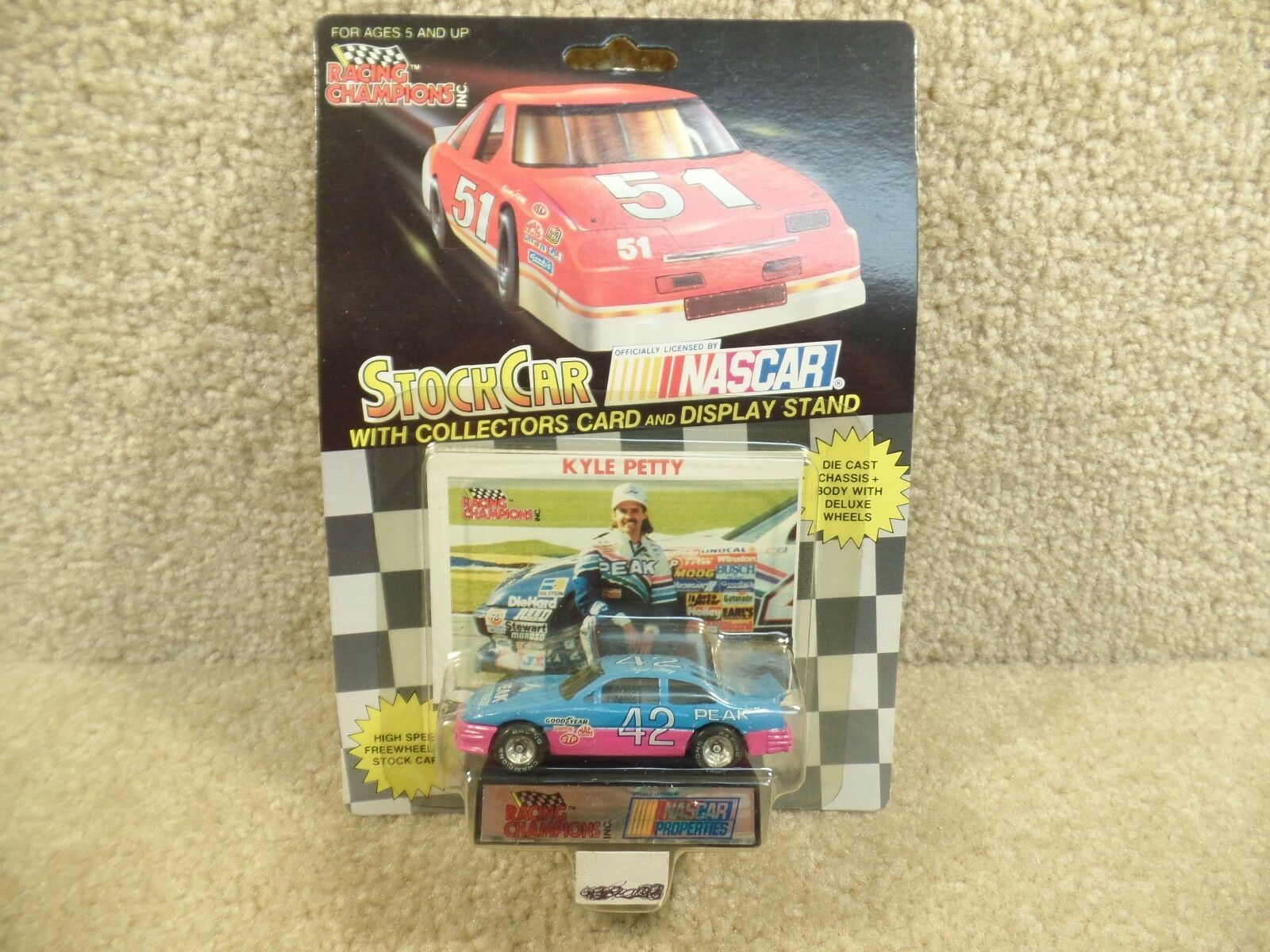 1990 Racing Champions 1 64 Diecast  NASvoiture Propriétés Kyle Petty Pic PONTIAC  42  peu coûteux