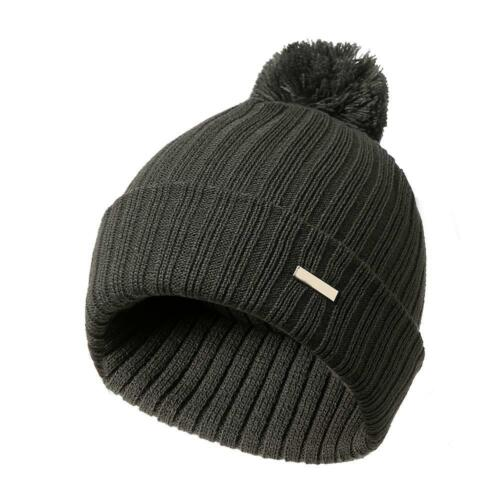Autumn Winter Women Knitted Hat with Pompon Beanie Warm Casual Cap for Outdoor