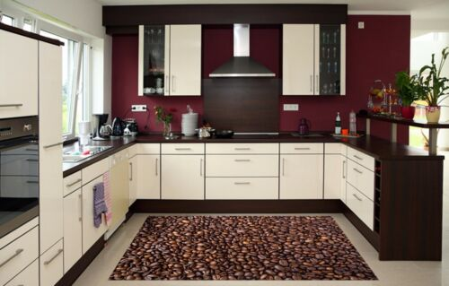 3D Coffee Beans 2 Kitchen Mat Floor Murals Wall Print Wall Deco AJ WALLPAPER AU
