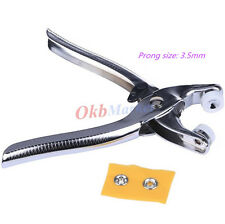 Fastener Snap Pliers For 9.5mm Button Snap Fixing Tool Sewing Craft Press Studs