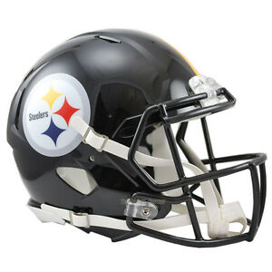 PITTSBURGH-STEELERS-RIDDELL-NFL-FULL-SIZE-AUTHENTIC-SPEED-FOOTBALL-HELMET
