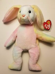 Image is loading Hippie-Beanie-Baby-with-Rare-Tag-Errors 15fa524fc4a6