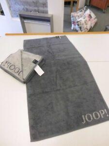 Joop-Gaestetuch-Handtuch-Duschtuch-Waschlappen-Doubleface-1600-Fb-77-Anthrazit