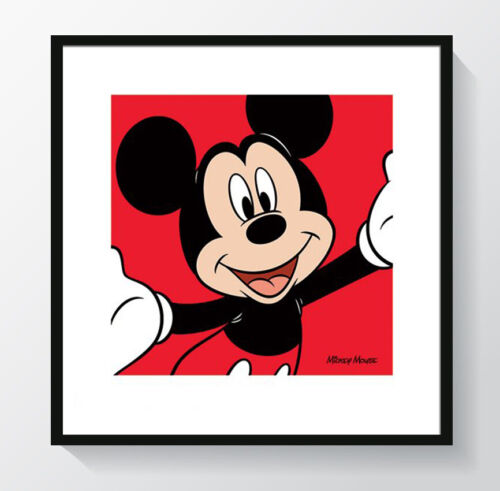 "Framed Disney Picture 16x16/"" Wall Art Nursery Print Kids Bedroom Decoration"
