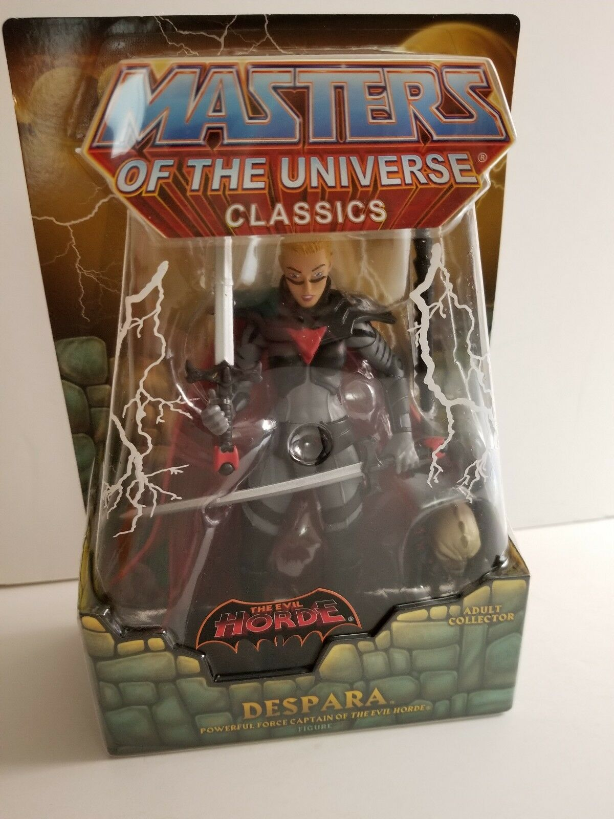 DESPARA MOTUC, MOTU, MASTERS OF THE UNIVERSE CLASSICS, HE-MAN HORDE