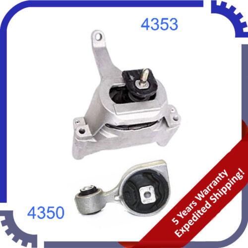 Engine Motor Mount 2007-2013 For Nissan Altima 2.5L SET 2PCS 4350 4353 M987