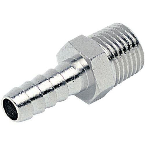 ICH 30409 Adaptador De Manguera Para Cónico Rosca Exterior 9mm R1//4 60 bar Latón NP