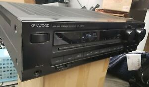 Kenwood-AM-FM-Stereo-Receiver-KR-A5070-Tuner-and-Amplifier-System-Tested-Black