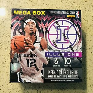 2019-20-PANINI-ILLUSIONS-NBA-BASKETBALL-MEGA-BOX-FACTORY-SEALED