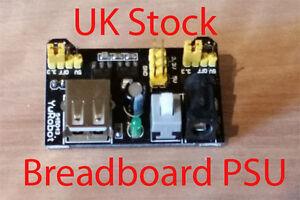 MB102 Power Supply Module Shield 3.3V 5V Breadboard Solderless Bread Board New