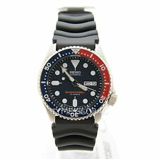 Seiko SKX009J1 Japan Dark Blue Dial Diver's 200M Black Rubber Automatic Watch