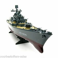 USS Missouri BB 63 US Navy Battleships RC Warship Military Boat Kits Boat Model