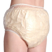 Clear Abdl Plastic Pants (pvc) For Adult Baby Diapers & Nappy Ab/dl & Ddlg Sissy