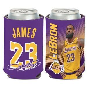 LEBRON-JAMES-23-LOS-ANGELES-LAKERS-KADDY-KOOZIE-CAN-HOLDER-BRAND-NEW-WINCRAFT