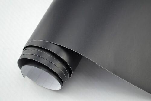 5,50 €//m² Voiture Film Noir Mat 800 x 152 cm Souple 3d Film Adhésif Car WRAPPIN