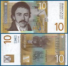 JUGOSLAWIEN / YUGOSLAVIA 10 Dinara 2000 UNC  P.153 b