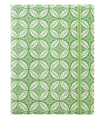 Abile Filofax - A5 Impressioni Notebook Bianco E Verde Ricaricabile