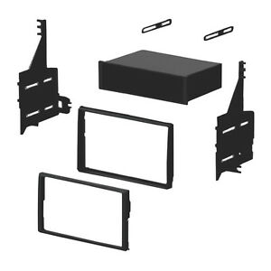 Single-Double-DIN-Installation-Dash-Kit-w-pocket-for-2005-2006-Nissan-Altima