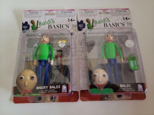 """Phatmojo 5/"""" Action Figure Baldi/'s Basics Action Figure Angry Baldi"""