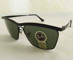 881ebb9d59 Vintage B L Ray Ban Olympian III Deluxe Matte Black W1304 Wayfarer ...