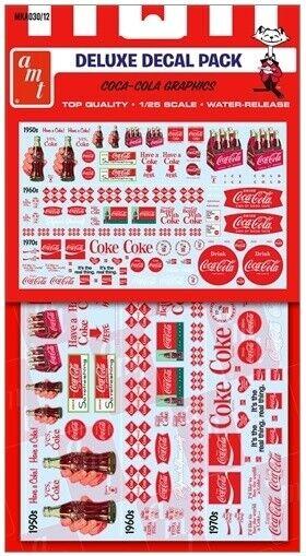 AMT MKA030 Coca Cola Graphics decal