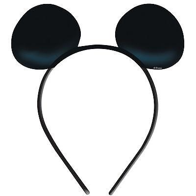 Disney Mickey Mouse Boys Girls Kids Birthday Party Headbands x 8 Ears!