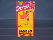 Vintage 1991 Mattel Barbie Fashion Wraps Set #2936 3 Piece Outfit BNIP