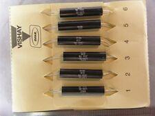 6 Dale Lvr 10 01 Ohm 1 10w Precision Ww Resistors