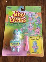 7654 Nrfc Vintage Tyco Bitsy Bears Doodles Bear