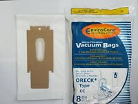 8 Oreck Vacuum Cleaner Bags To Fit Style Cc, And All Xl Xl2 Upright Models 8 Pk