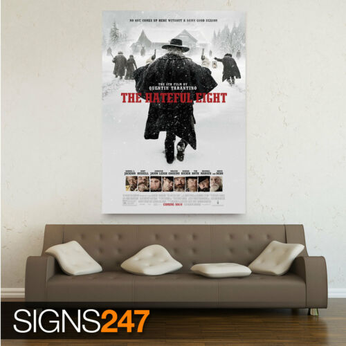 Poster Print Art A0 A1 A2 A3 A4 THE HATEFUL 8 1078 THE HATEFUL EIGHT MOVIE