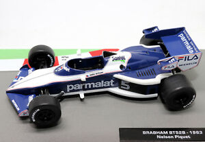 FORMULA-1-AUTO-COLLECTION-BRABHAM-BT52B-1983-NELSON-PIQUET-1-43-modello-F1