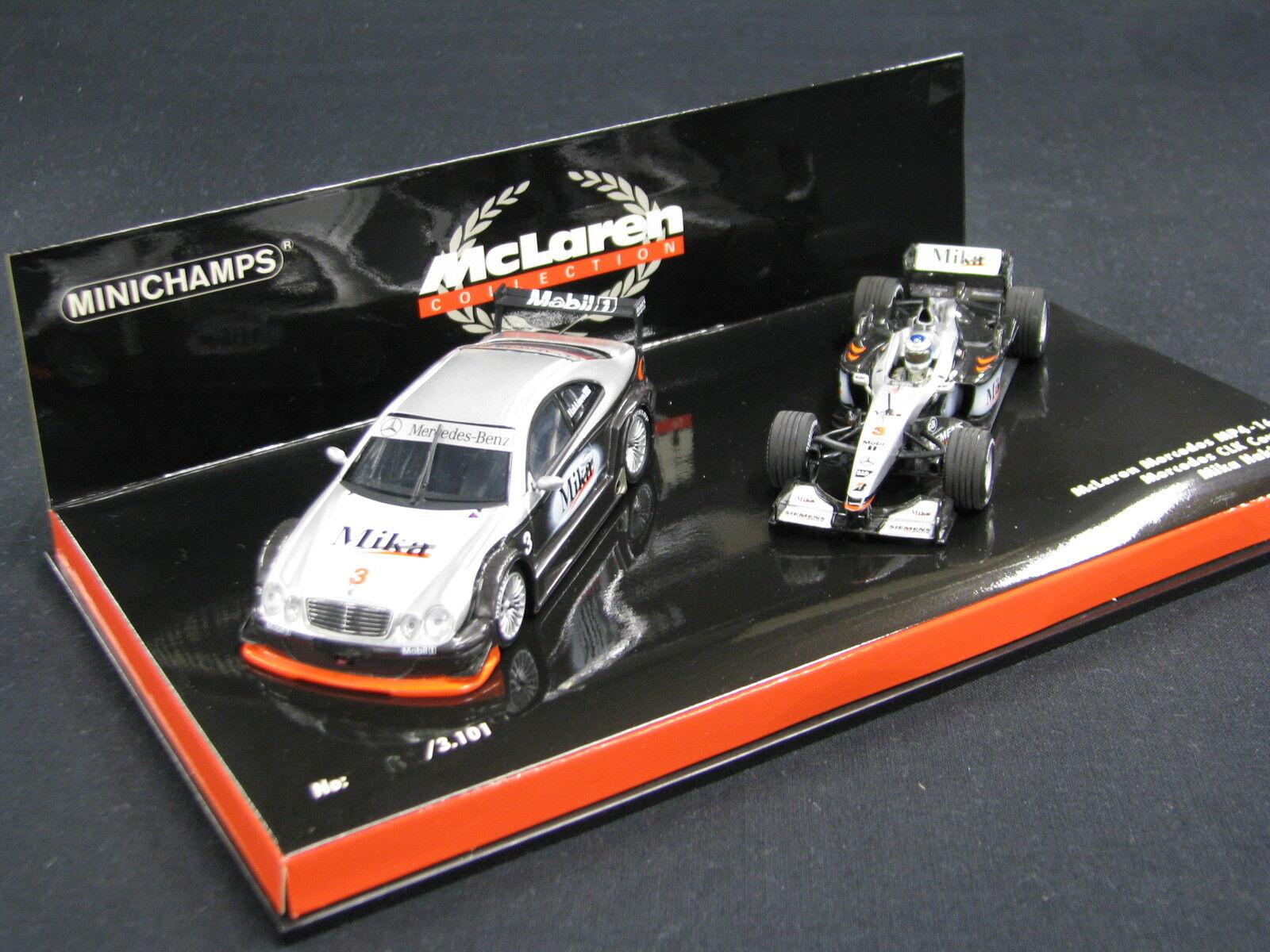 Minichamps McLaren Mercedes MP4 16 2001   Mercedes CLK DTM 1 43 Hakkinen (JS)