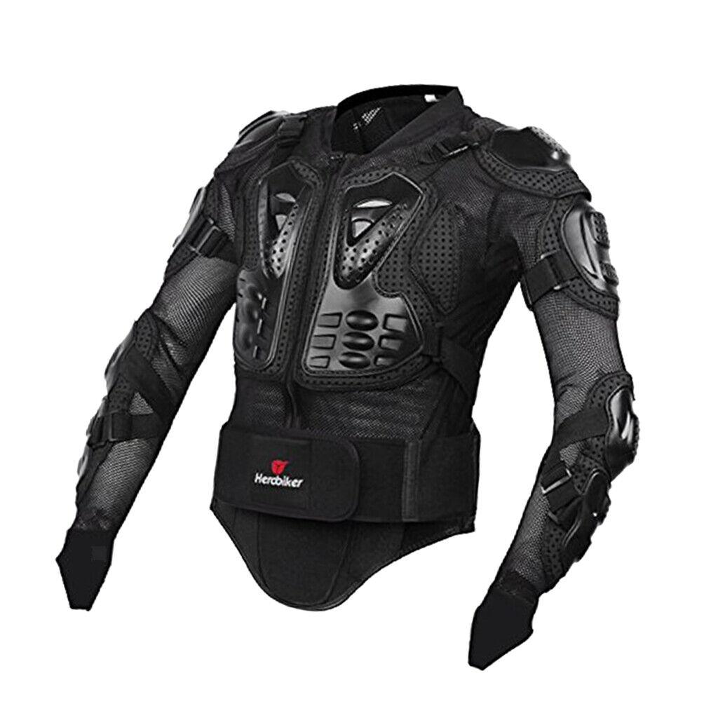 Herobiker moto Full Body Prossoector per colonna verdeebrale prossoezione petto XL