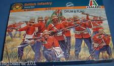 ITALERI 6050. BRITISH INFANTRY COLONIAL / ZULU WARS 1:72 SCALE UNPAINTED PLASTIC