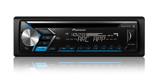 NEW Pioneer DEH-S4000BT Single DIN CD MP3 w/ Bluetooth MIXTRAX USB AUX NO REMOTE