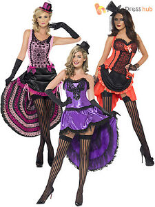 Ladies burlesque costume adults can can fancy dress womens 1920s image is loading ladies burlesque costume adults can can fancy dress solutioingenieria Images