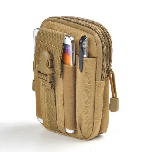 "5.5/"" Tactical Molle Pouch Military Waist Bags Sport Belt Fanny Waist Pack Pocket"
