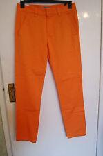 WeSC Eddy chinos Naranja Talla 30 Cintura 32 dentro de la pierna (30x32) BNWT