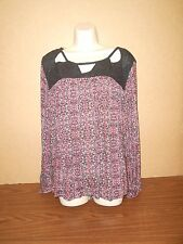 New Plus Size Top Size 2X Jessica Simpson Blouse Tunic Career Casual $69