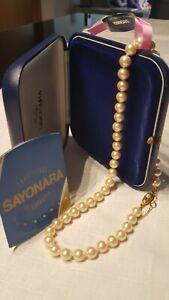 b42b2439ac2c La imagen se está cargando 60-de-descuento-Collar-de-perlas-Sayonara -Mallorca-