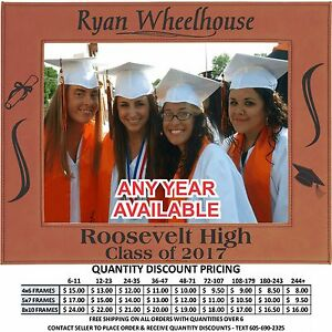 personalized graduation picture frames custom laser engraved class