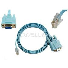 1.5m 5FT Cisco Serial Of Console Blue Cable Switch Router DB9 To RJ45 CabConsole