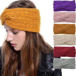 Ladies-Knitted-Turban-Headband-Winter-Warm-Bandanas-Hair-Accessories-Head-Wrap