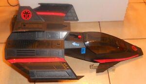 1987 Mattel Capitaine Puissance Phantom Striker Jet Rare Htf