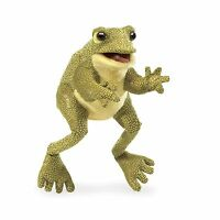 Folkmanis Funny Frog Hand Puppet Free Shipping