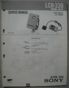 SONY-LCH-330-Service-Manual